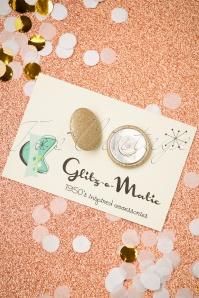 Glitz o Matic Gold Sparkle Earrings 339 90 27993 11222018 005W