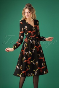 Smashed Lemon Black Parrot Dress 108 14 25622 20180919 0004W