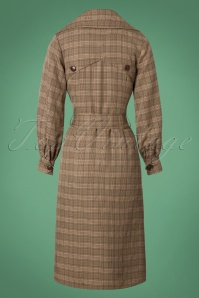Bright and Beautiful Harlow Tweed Coat in Brown 25498 20180704 0010 1W