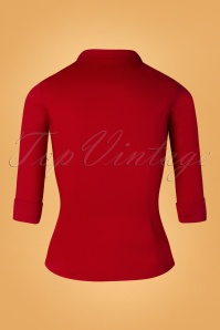 Collectif Mona Shirt Red 112 20 27500 20181123 161W