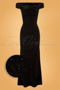 Vintage Chic Black Velvet Glitter 108 10 28025 20181011 0310W1