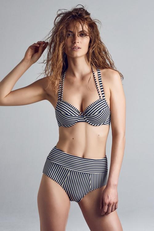 Marlies Dekkers 27907 Navy Ecru Holi Vintage Bikinitop 20170511 010