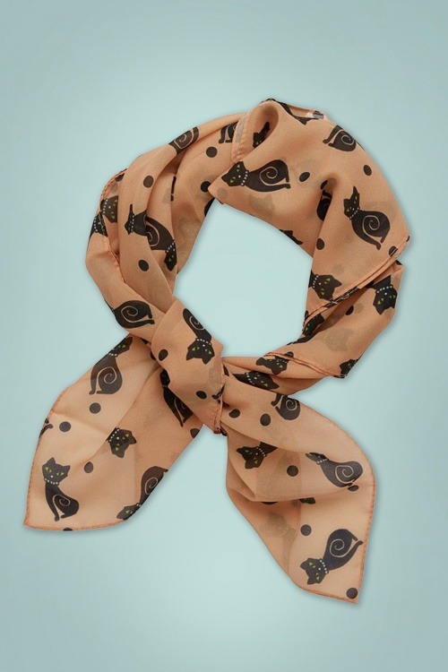 Erswilder 28695 Meow at Midnight Scarf 01