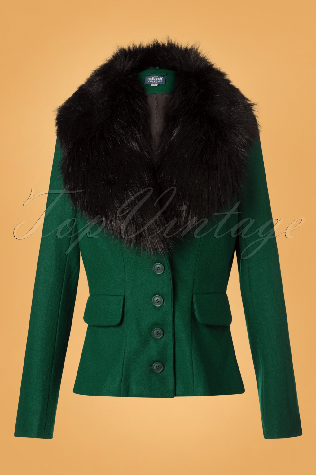 ae106d563de 1940s Coats   Jackets Fashion History 40s Cora Jacket in Green £72.76 AT  vintagedancer.