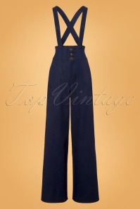 Collectif Clothing Freya Jeans in Navy 22827 20171121 0001w