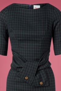 Banned Retro 26232 Patricia Green Pencil Dress 20181206 006V