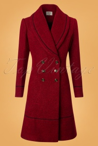 Banned Lovely Laura Coat in Red 26224 20180720 0002W