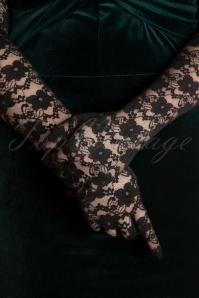 Darling Divine 28894 Handschoen Zwart Kant 20181214 067W