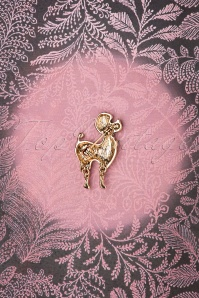 Lovely 28943 Poodle Brooch 20181220 008W