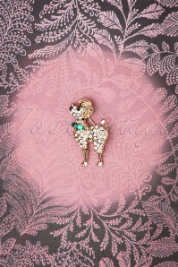Lovely 28943 Poodle Brooch 20181220 004W
