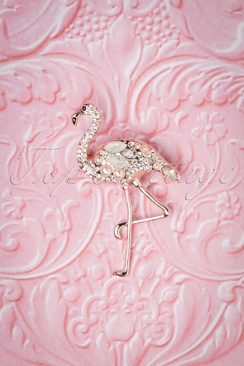 Lovely 28942 Flamingo Brooch 20181220 004W