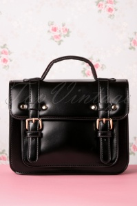 50s Galatee Messenger Bag in Black