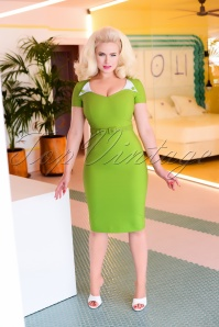 Jane Dress in Green 0892 AmendW