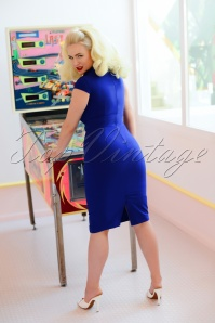 Roxy Dress in Blue 28150 2