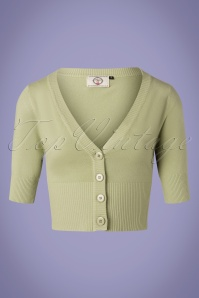 50s Overload Cardigan in Soft Olive