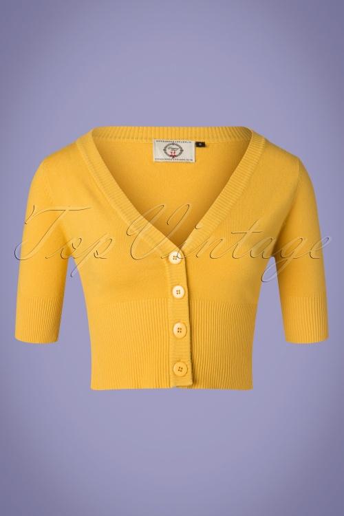 Banned 28557 Overload Cardigan Mustard Yellow 20181217 005W