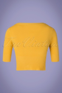 Banned 28557 Overload Cardigan Mustard Yellow 20181217 002W