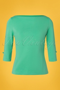 Banned 28553 Oonagh Top in Mint Green 20181218 002W