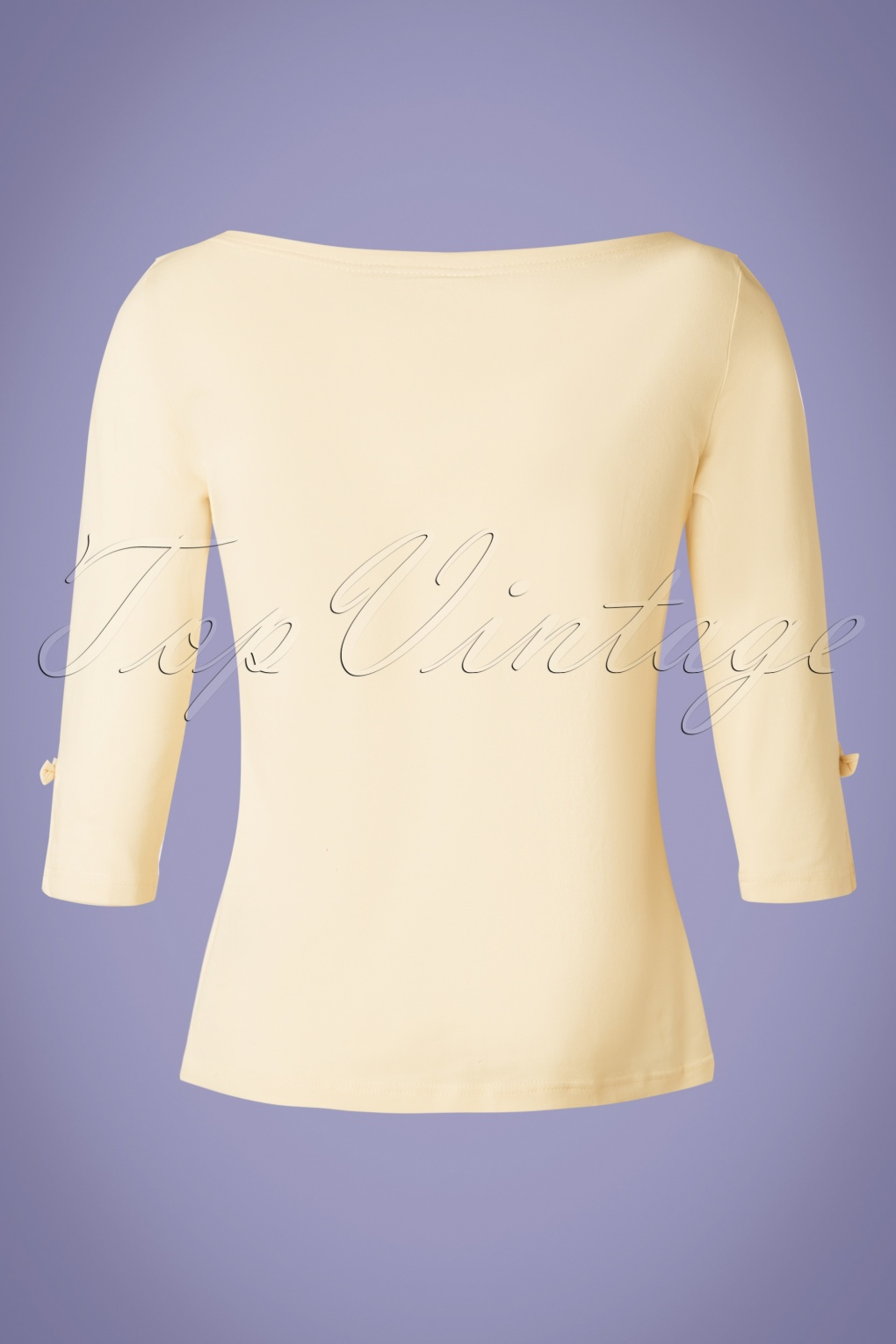 Vintage & Retro Shirts, Halter Tops, Blouses 50s Oonagh Top in Cream £25.84 AT vintagedancer.com