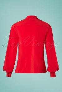 Steady Clothing 26967 Red Tie Blouse 20190111 009W