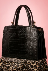 Banned Retro 50s Indiscreet Bag in Black