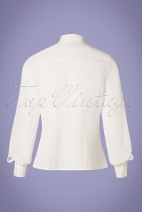 Steady Clothing 26969 White Tie Blouse 20190111 008W