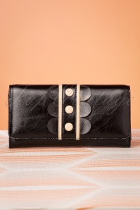 60s Deidra Wallet in Black