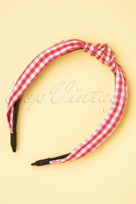 Darling Divine 28972 Haarband Red Checker 20190107 009W