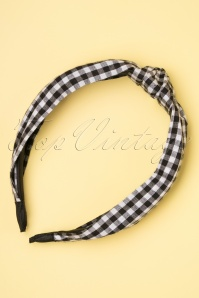 Darling Divine 28973 Haarband Black Checker 20190107 004W