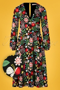 Traffic People 27325 Mama Mia Floral Dress 20190116 004