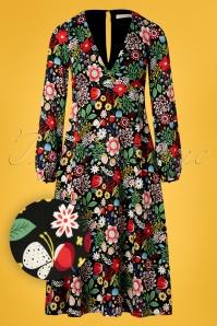 Traffic People 27325 Mama Mia Floral Dress 20190116 004