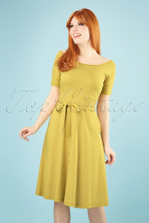 King Louie 27162 Curry Selma Dress Venus 20181119 014W