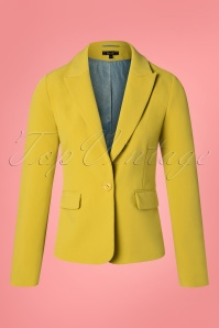 King Louie 27159 Cress Yellow Daisy Blazer Tribeca 20181123 002W