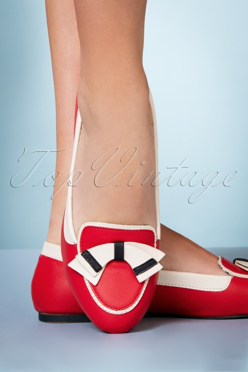 Banned Retro 28299 Ballerina St  Tropez in Red 20190115 014W