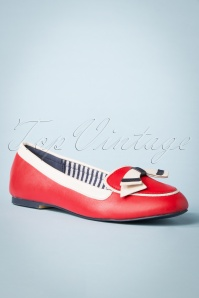 Banned 28299 Red Ballerina Sailor Blue White 20190114 015W