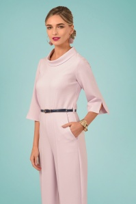Closet London 29034 Funnel Collar Pink Jumpsuit 20190121 02