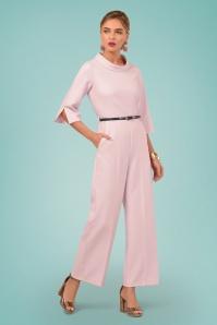 Closet London 29034 Funnel Collar Pink Jumpsuit 20190121 01