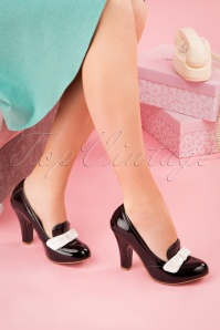 June Ultimate Sophistication Pumps Années 50 en Noir