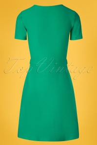 Who's that girl  27043 Green A line Dress 20190122 006W