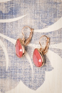 Glamfemme 29115 Earrings in Coral 20190118 007W