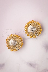 Glamfemme 29111 Yellow Rhodium Earrings 20190118 006W