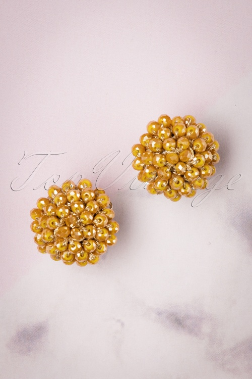 Glamfemme 29111 Yellow Rhodium Earrings 20190118 004W