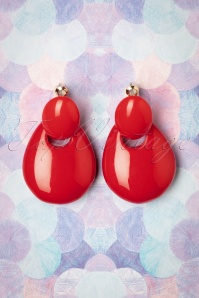 Glamfemme 29108 Tomato Earrings 20190118 009W