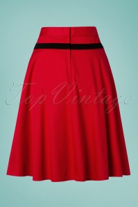 Banned 28456 Rockin Red Swing Skirt 20181219 005W