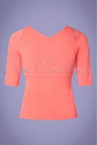 Banned 28540 Betty Top in Pink 20190123 007W