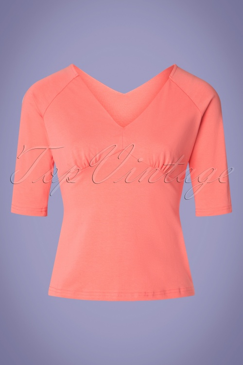 Banned 28540 Betty Top in Pink 20190123 002W
