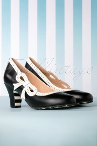 Lola Ramona 50s Ava Swell Pump in Black