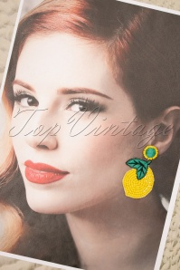 Darling Divine 28995 Earrings Lemon Yellow 20190121 002W
