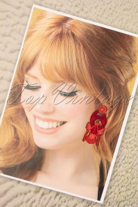 Darling Divine 28955 Red Lobster Earrings 20190121 006W