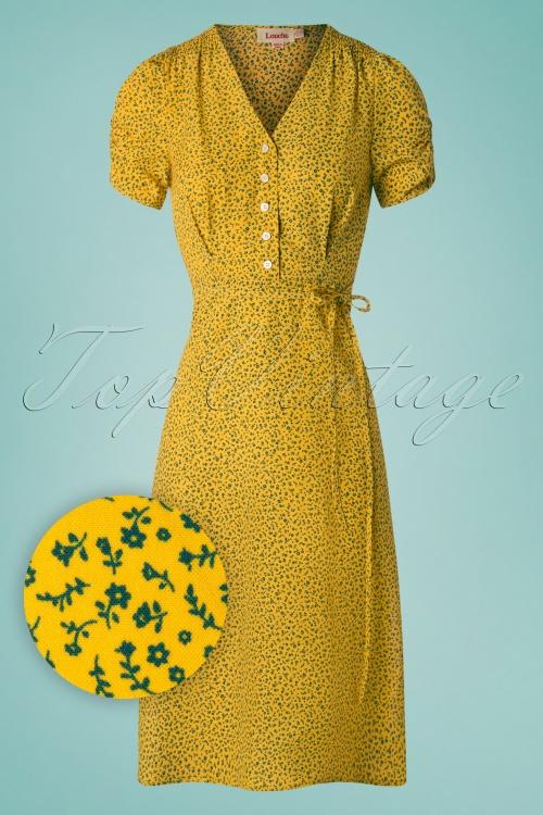 Louche 28119 Chantal Mini Fleur Dress 20190128 002W1